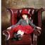 ชุดกระโปรง สีแดง แพ็ค 5ชุด ไซส์ 100-110-120-130-140 thumbnail 3