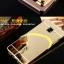 เคส Samsung C7 Pro แบบประกอบ 2 ชิ้น ขอบเคสโลหะ Bumper + พร้อมแผ่นฝาหลังเงางามสวยจับตา ราคาถูก thumbnail 3