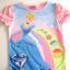 CT015 Disney Princess เสื้อผ้าการ์ตูนดัง เสื้อยืดแขนสั้น Size 5T thumbnail 1
