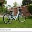 """จักรยานซิตี้ไบค์ FINN """" CITY USA"""" ล้อ 26 นิ้ว 7 สปีด ชิมาโน่เฟรมอลู โช๊คหน้า พร้อมตะกร้า thumbnail 1"""