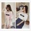 เสื้อแฟชั่นคอวี สไตล์เกาหลี BTS (ชื่อเมมเบอร์) thumbnail 1