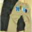 SEV1015 เสื้อผ้าเด็กนำเข้า-พร้อมส่ง TWO&SEVEN กางเกงเด็กแนว ขาเดฟ ปักแปะ HELLO ด้านหลัง เหลือ สีดำ Size 90 thumbnail 2