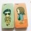 เคสหลังเงา ไอโฟน 6/6s 4.7 นิ้ว ลายตัวการ์ตูนจากซีรี่ย์เกาหลีเรื่อง Descendants of the Sun thumbnail 4