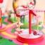 Hello kitty amusement Playground park figure PVC model ตุ๊กตาโมเดลคิตตี้คอลเลกชั่นสวนสนุก 11 pcs. thumbnail 4