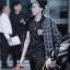 เสื้อแฟชั่นเกาหลี เสื้อกันหนาวแฟชั่น ลายสก๊อต EXO KRIS thumbnail 2