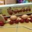 รถไฟไม้แม่ไก่บรรทุกไข่3ฟอง (งานไม้) มีคลิป thumbnail 2