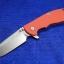 """RHK XM-24 4"""" Spear Point Blade Orange G-10"""