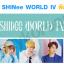 [พร้อมส่ง] ผ้าเชียร์ SHINee WORLD IV (สองด้าน) thumbnail 1