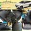 พรมดักฝุ่นปูพื้นรถยนต์ Mitsubishi Pajerosport 2016 ไวนิลสีเทาขอบเทา thumbnail 1