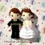 ตุ๊กตาแต่งงาน เจ้าบ่าวเจ้าสาว 9 นิ้ว thumbnail 3