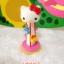Hello kitty amusement Playground park figure PVC model ตุ๊กตาโมเดลคิตตี้คอลเลกชั่นสวนสนุก 11 pcs. thumbnail 11