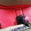 ขายพรมปูพื้นรถยนต์ราคาถูก Honda Brio amzae ลายกระดุมสีแดงขอบดำ thumbnail 4
