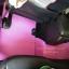 ยางปูพื้นรถยนต์เข้ารูป Subaru XV สนุ๊กสีชมพูขอบม่วง thumbnail 5