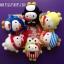 [พร้อมส่ง] เฮลโหลคิตตี้คอลเลกชั่นสะสม Celebration Set Bubbly World Series of Hello Kitty's 40th anniversary เซ็ต 6 ชิ้น ส่งฟรี EMS thumbnail 5