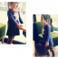 เสื้อ สีน้ำเงิน แพ็ค 5ชุด ไซส์ 100-110-120-130-140 thumbnail 1