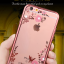 เคสนิ่มขอบเงาแต่งเพชรลายดอกไม้ไอโฟน 6/6s 4.7 นิ้ว thumbnail 15