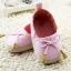 รองเท้าหัดเดินเด็กเล็กลายแต่งโบว์สีชมพู [size 11-12] thumbnail 3