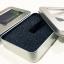 กล่องใส่หูฟังโลหะแบบสี่เหลี่ยมมีช่องพลาสติกใส บุฟองน้ำอย่างดีข้างใน Earphone Box Metal Square thumbnail 1