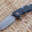"RHK 3.5"" Hapoon Spanto Working Finished CPM20CV Battle Blue Black G-10"