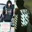 เสื้อแฟชั่นแขนยาว EXO CHANYEOL PYREX14ss Off White 13 สีดำ thumbnail 1
