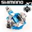 บันใดชิมาโน่ XTR, PD-M990, สีฟ้า, รุ่นลิมิทอีดิชั่น, พร้อมคลีท, ไม่มีทับทิม, มีกล่อง (JAPAN) thumbnail 1
