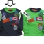 KPTL209L Kidsplanet เสื้อผ้าเด็กชาย เสื้อยืดแขนยาว สีกรมท่ากุ๊นเขียว ปักแปะลายรถแข่ง Grand Prix Drivers Club เหลือ Size 4Y thumbnail 1
