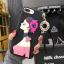 เคสนิ่มลายผู้หญิง 3Dห้อยพู่แต่งเพชร ไอโฟน 6plus/6s plus 5.5 นิ้ว thumbnail 1