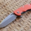 "RHK 3.5"" Hapoon Spanto Stonewash CPM20CV Blue Anodize Orange G-10"