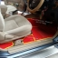 โรงงานพรมรถยนต์ Isuzu Mu-7 ไวนิลสีแดงเหลือง thumbnail 4