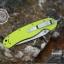 มีดพับ ONTARIO Model-1 ด้าม Fluorescent Green คมกริบ ขนาด 8 นิ้ว (OEM) thumbnail 11