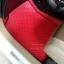 ขายพรมปูพื้นรถยนต์ราคาถูก Honda Brio amzae ลายกระดุมสีแดงขอบดำ thumbnail 2