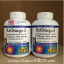 Natural Factors, RxOmega-3 Factors, EPA 400 mg / DHA 200 mg, 120 Softgels thumbnail 1