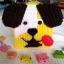 กล่องทิชชูแผ่นเฟรม ลายหมาน้อย สีเหลือง thumbnail 3