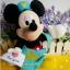 """ตุ๊กตามิกกี้เม้าส์ บุรุษไปรษณีย์ส่งจดหมาย Disney Mickey Mouse postman plush doll 11"""" thumbnail 3"""