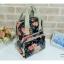 กระเป๋านำเข้าผ้าเคลือบกันน้ำ ดีไซน์ cath kidston ใช้ได้ทั้งถือและเป้สะพาย