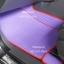 ผลิตและจำหน่ายพรมปูพื้นรถยนต์เข้ารูป Ford Ranger 4ประตู ลายธนูสีม่วงขอบแดง thumbnail 2
