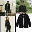 เสื้อแขนยาว (Sweater) เชือกถักด้านหลัง แบบ Lee Dong Wook ในซีรี่ย์ Goblin thumbnail 1