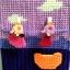 กล่องทิชชูแผ่นเฟรมสีม่วง ตัวหนีบตากผ้า thumbnail 4