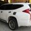 พรมดักฝุ่นปูพื้นรถยนต์ Mitsubishi Pajerosport 2016 ไวนิลสีเทาขอบเทา thumbnail 8