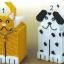 ชุดปักแผ่นเฟรมกล่องทิชชูลายแมวกับหมา เลือกลายด้านล่างค่ะ thumbnail 1