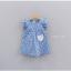 ชุดกระโปรง สีฟ้า แพ็ค 5ชุด ไซส์ 100-110-120-130-140 thumbnail 1
