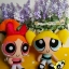 Powerpuff Girls - Blossom plush doll บลอซซั่มสาวน้อยพาวเวอร์พัฟเกริ์ลชุดส้ม thumbnail 5