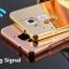 เคส Huawei Y3ll รุ่น Aluminium Hybrid Mirror Back (เคสฝาหลังเงา) thumbnail 1