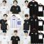 เสื้อยืด เสื้อแฟชั่นเกาหลี EXO SPAO งานแฟนเมด (ระบุชื่อศิลปินที่ช่องหมายเหตุ) thumbnail 1