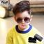 แว่นกันแดดเด็ก กรอบลายเสือเลนส์สีชา แพ็ค 3 ชิ้น thumbnail 1