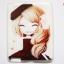 เคสยางลายการ์ตูนสาวเกาหลี Ipad 2/3/4 thumbnail 4