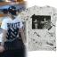 เสื้อยืดแฟชั่นเกาหลี GD OFF-WHITE 13 สีขาว thumbnail 1