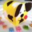กล่องทิชชูแผ่นเฟรม ลายหมาน้อย สีเหลือง thumbnail 1