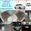 ยางปูพื้นรถยนต์เข้ารูป Nissan Sylphy ลายกระดุมสีน้ำตาลขอบครีม thumbnail 1