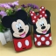 เคส iPhone 4/4s ซิลิโคน 3D มินนี่+มิกกี้เม้าส์ thumbnail 1